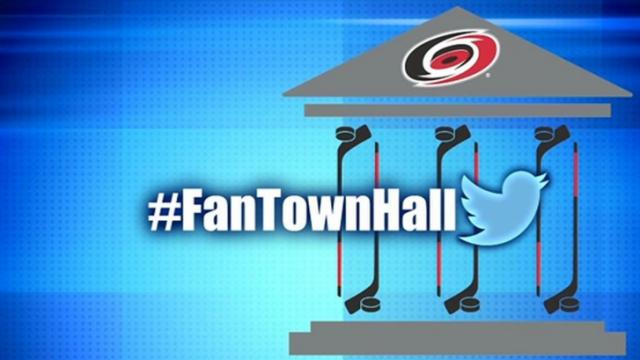 Fan Town Hall: Canes logo