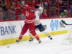 Hurricanes fall to Sabres 4-3