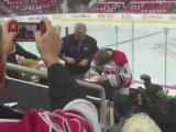 Canes, top-pick Hanifin seal deal in front of fans at camp