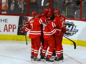 Flyers rally to beat Canes in OT, 3-2