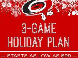 Listen to win the Canes 3-game Holiday Plan on 99.9 The Fan