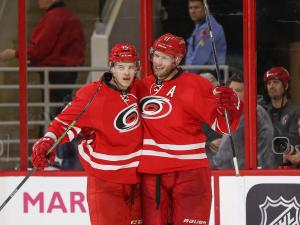 Canes beat Sharks 5-2