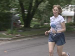 Barbara Latta has run every day for almost 29 years.