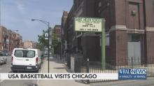 USA Basketball makes stop Coach K's hometown of Chicago
