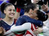 Final Five gymnastics team at Rio olympics