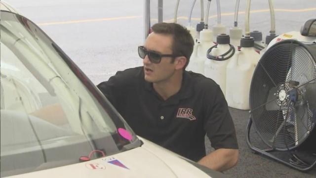 Medlin: Raleigh race car driver heading 'home' to VIR
