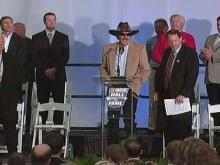 NASCAR Hall of Fame opening ceremony