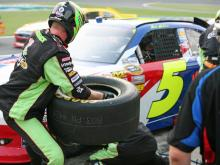 At the 52nd Coca-Cola 600 at Charlotte Motor Speedway Sunday, Memorial Day weekend, NASCAR paid honor to the troops.