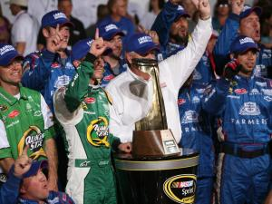 Kasey Kahne won the annual Coca-Cola 600 at Charlotte Motor Speedway on May 27, 2012.