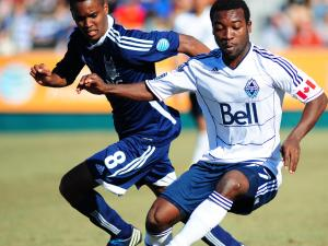 Sanvezzo leads WhiteCaps to 3-0 win over RailHawks