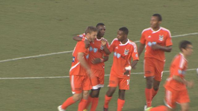 Shriver, RailHawks top Ft. Lauderdale, 3-1