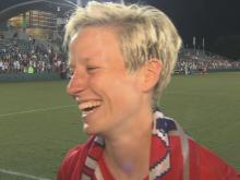 Rapinoe: It's great to be back
