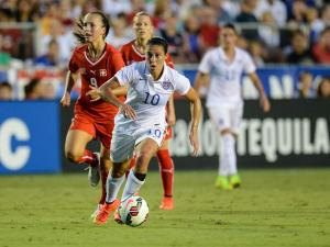 Women's Soccer Friendly:  USA vs Switzerland - August 20, 2014