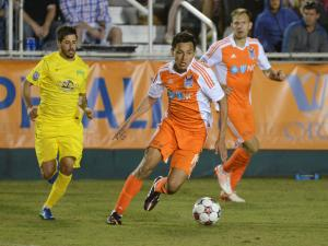 RailHawks' Leo Osaki patiently fighting to return to the field