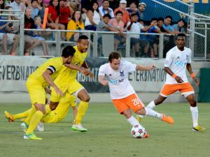 Adieu, not Adu: RailHawks draw with Adu-less Rowdies in Knight's farewell
