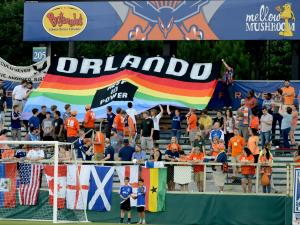 RailHawks fans support Orlando attack victims