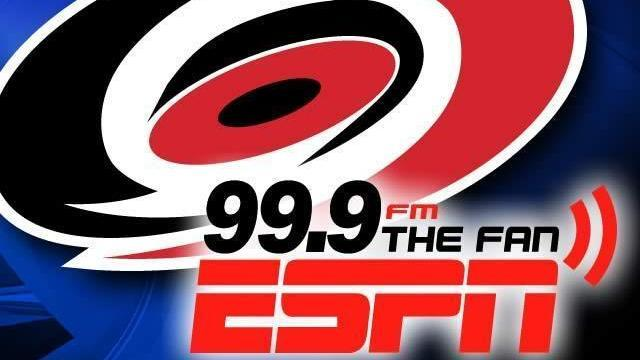 99.9 Carolina Hurricanes Logo