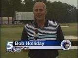 Bob Holliday at Pinehurst for the U.S. Open