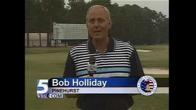 Bob Holliday in Pinehurst for the 2009 U.S. Open