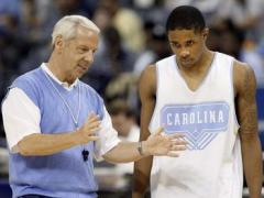 Roy Williams with Larry Drew