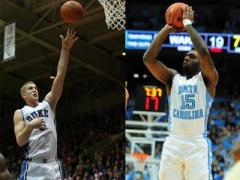 Duke, UNC square off Wednesday