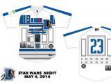 Durham Bulls R2-D2 jersey