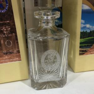 US Open decanter