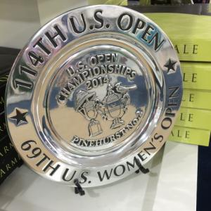 US Open serving plate
