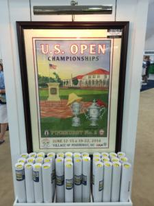 US Open posters