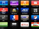 AppleTV menu