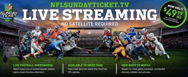 NFL gamepass screen