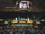 Super Bowl Media Day Panthers Intro