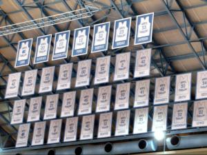 Dean Dome banners