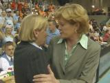 Pat Summitt and Sylvia Hatchell