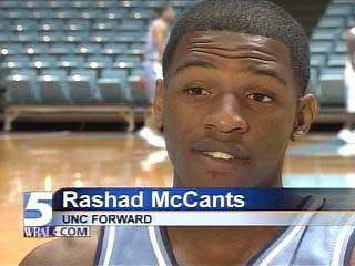 rashad mccants unc basketball