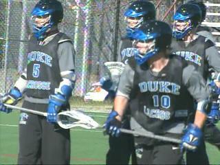 Duke Lacrosse Practice