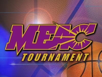 MEAC Basketball Tournament graphic
