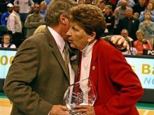 Kay Yow Receives Award