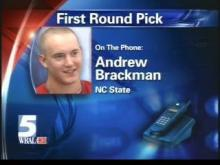Brackman Reacts To Getting Drafted In The First Round