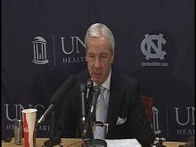 Postgame: UNC's Williams talks about loss