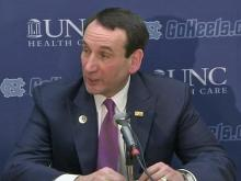 Mike Krzyzewski: Our defense was outstanding