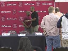 NCSU's Lorenzo Brown makes announcement
