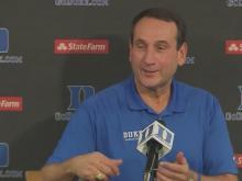Duke basketball media day