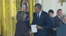 Dean Smith receives Medal of Freedom