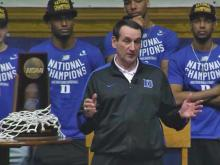 Duke celebrates basketball season