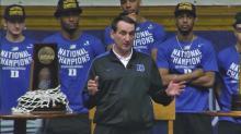 Duke celebrates basketball season