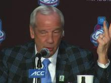 Roy Williams press conference
