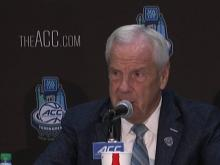 UNC addresses media after loss to Duke in ACC semis