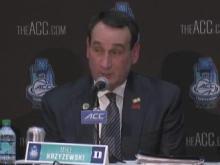 Coach K: I trust my guys