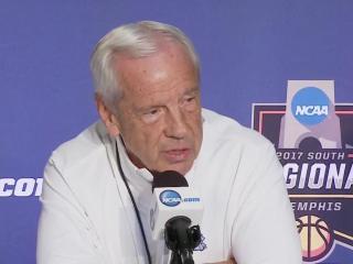 Roy Williams, UNC players address media ahead of Elite Eight game vs. Kentucky
